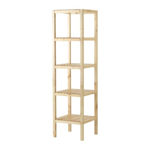 Delicieux MOLGER Shelving Unit $39.99  For That Tiny Spot In The Guest Bath  You  Could Chop The Legs To Make It The Best Height.