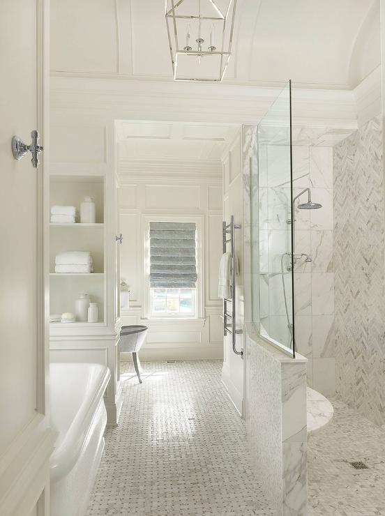 extraordinary bathroom design tile showers ideas | Extraordinary White Bathroom Ideas | Interior & Furniture ...