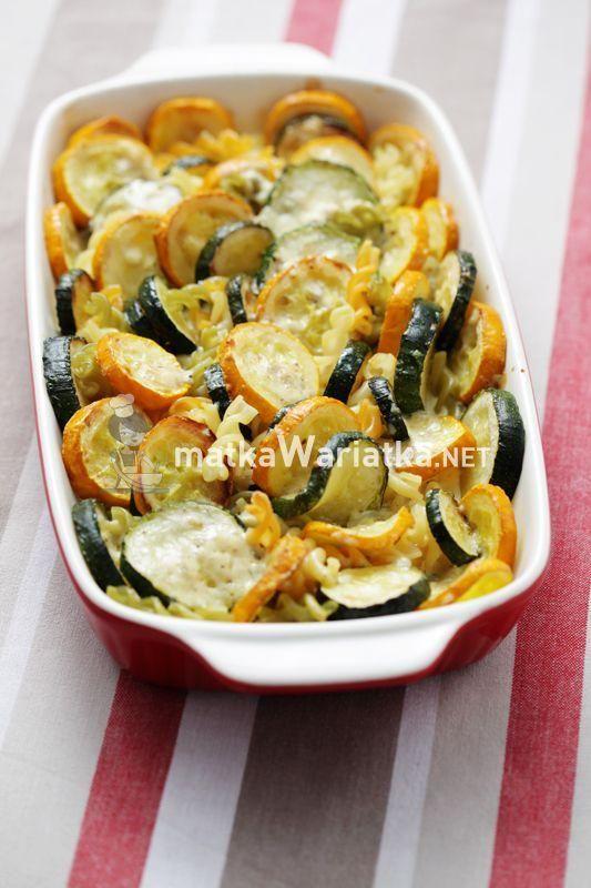 pasta baked with zucchini  Przepisyobiady