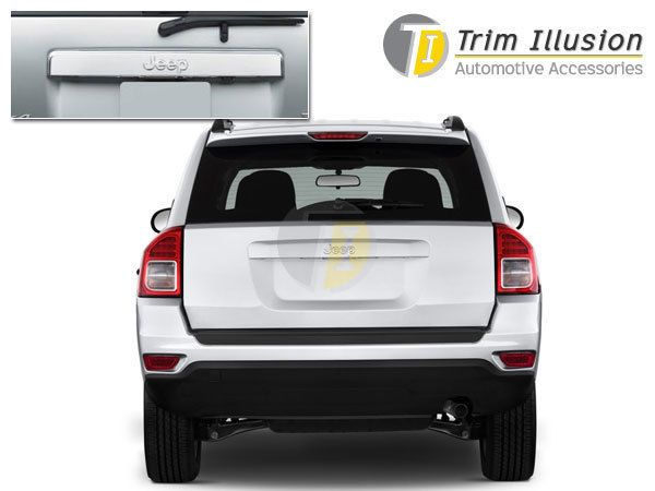 Jeep Liberty 2008 2011 Chrome Tailgate Cover Molding Jeep