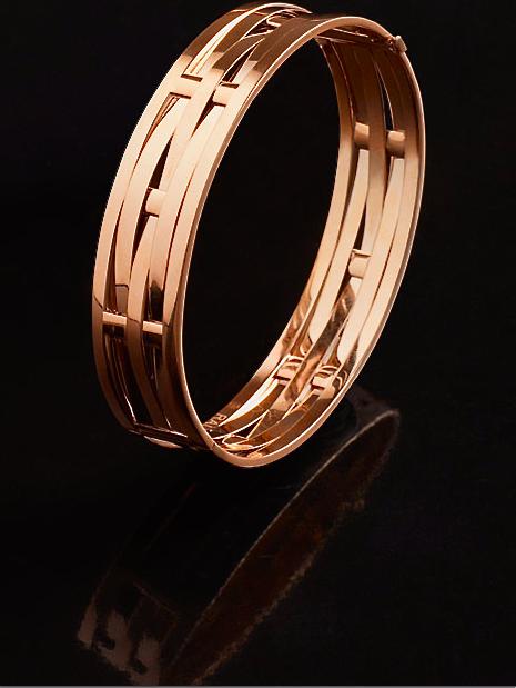 Ralph Lauren woven 18K rose gold bracelet Modern Jewelry