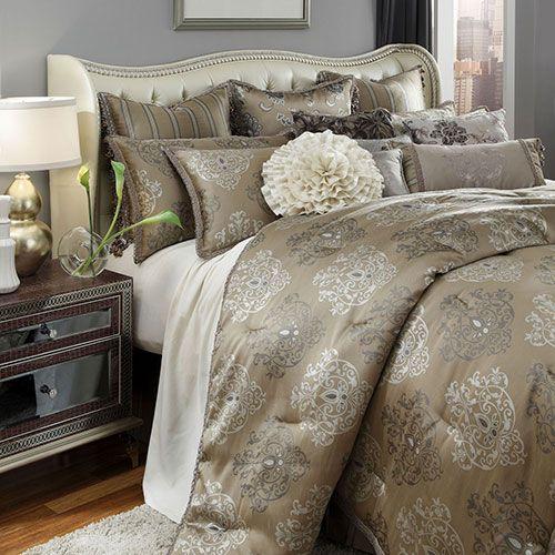 Bedding Michael Amini Furniture, Michael Amini Bedding
