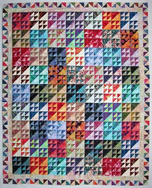 Exuberant Color : A good sewing day..............   Triangle ... : top quilting blogs - Adamdwight.com