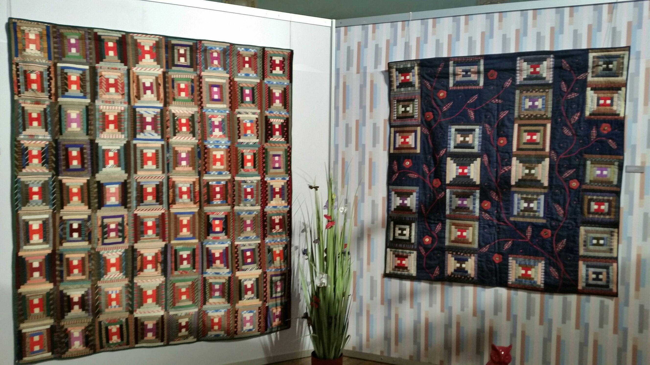 Exposition Log Cabin - Interprétation de Catherine Tourel
