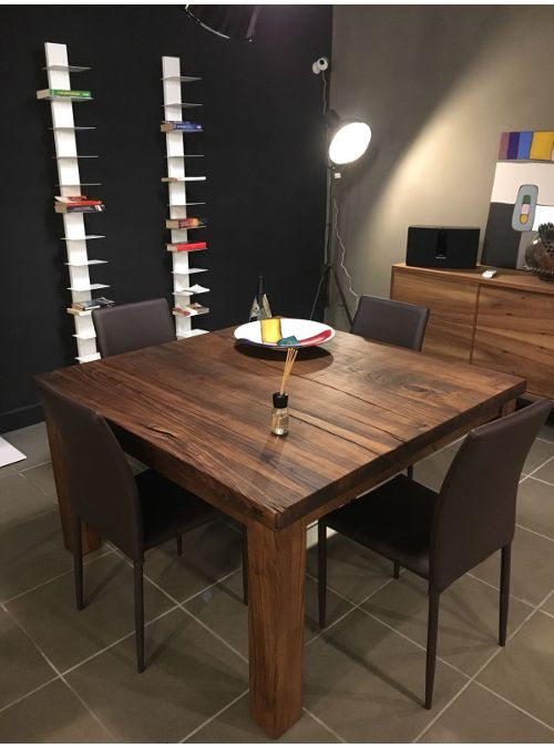 Tavolo quadrato da pranzo in legno ARTHUR Tavoli da