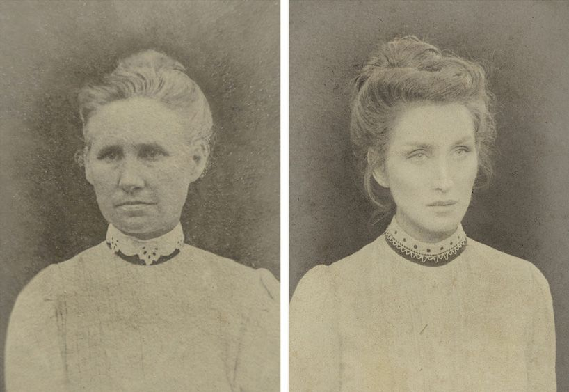 christine mcconnell replicates seven generations of american women