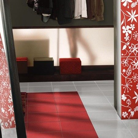 The Jolly Rojo Is A Red Ceramic Floor Tile With A Matt Finish From