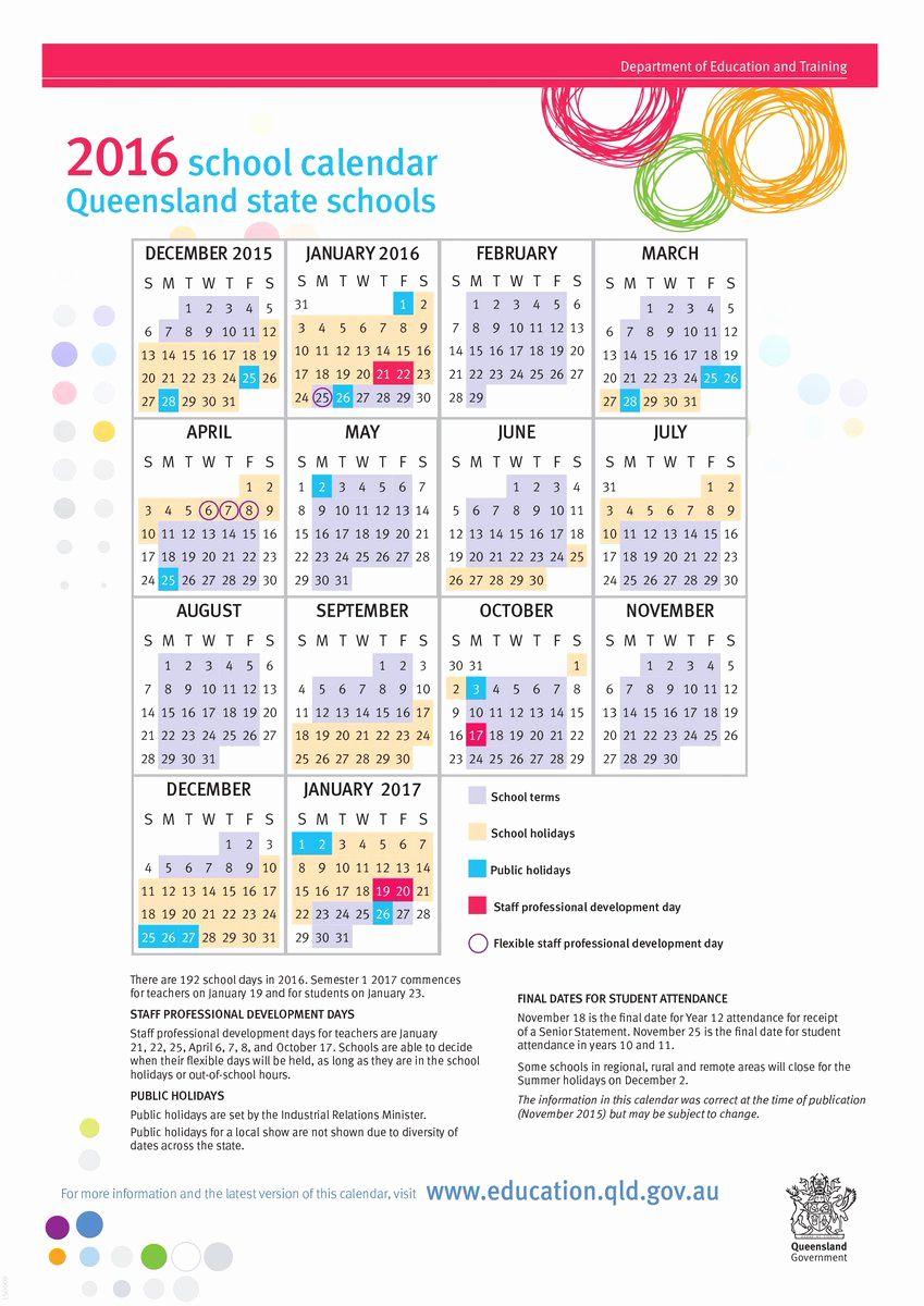 Printable Calendar Queensland 2019 In 2020 School Calendar School Calendar Printables School Holiday Calendar