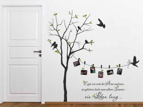 Arbol geneal gicos en pared buscar con google 24 for Imagenes de habitaciones decoradas