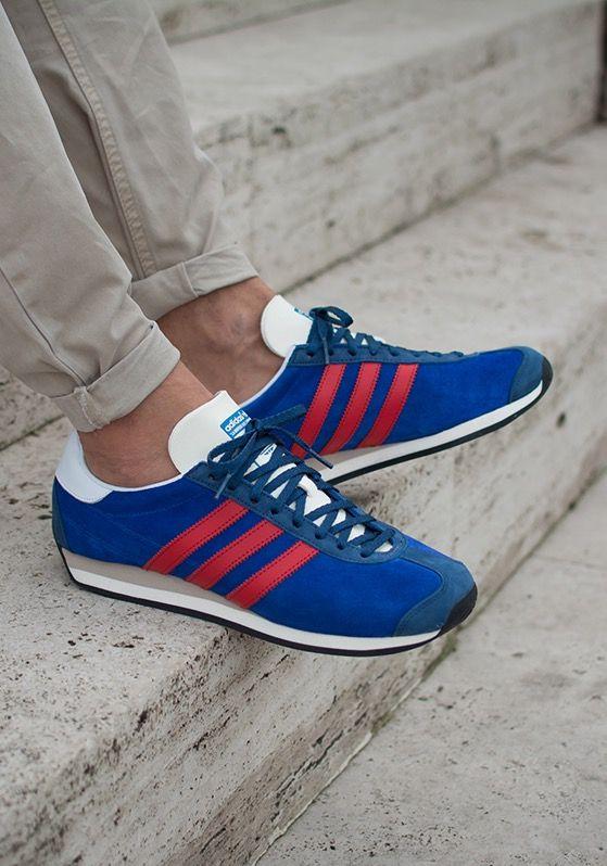 adidas Originals Country OG: BlueRed | Adidas sneakers