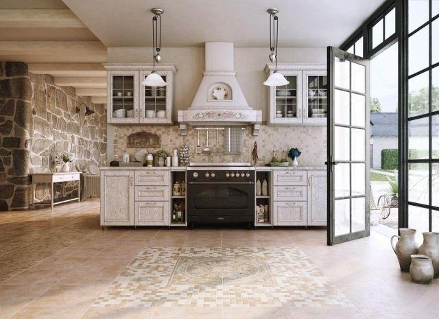 d co campagne dans notre cuisine 30 id es inspirantes bois blanc meubles en bois et. Black Bedroom Furniture Sets. Home Design Ideas