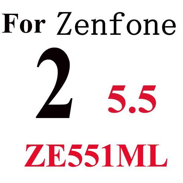 2.5D 9H Tempered Glass Screen Protector For Asus Zenfone 2 Laser ZE550KL ZE500KL A450CG Zenfone Max C Go Selfie X008 Film