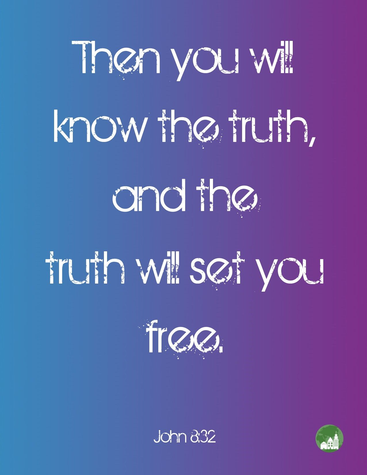 Then you will know the truth, and the truth wil set you free. Amen! www.reachavillage.org