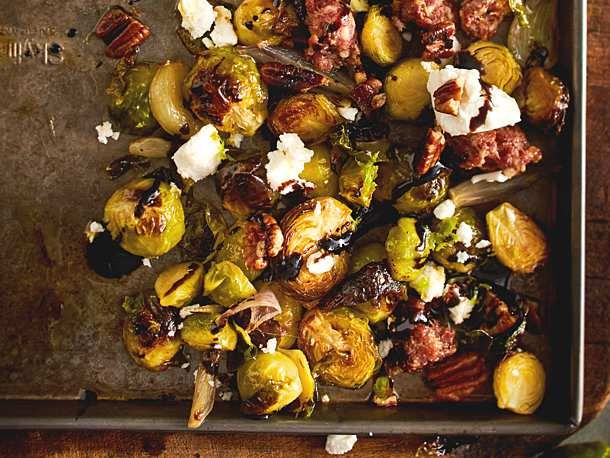 """Photo of Furnace Brussels sprouts """"A tray is loading"""" Recipe 