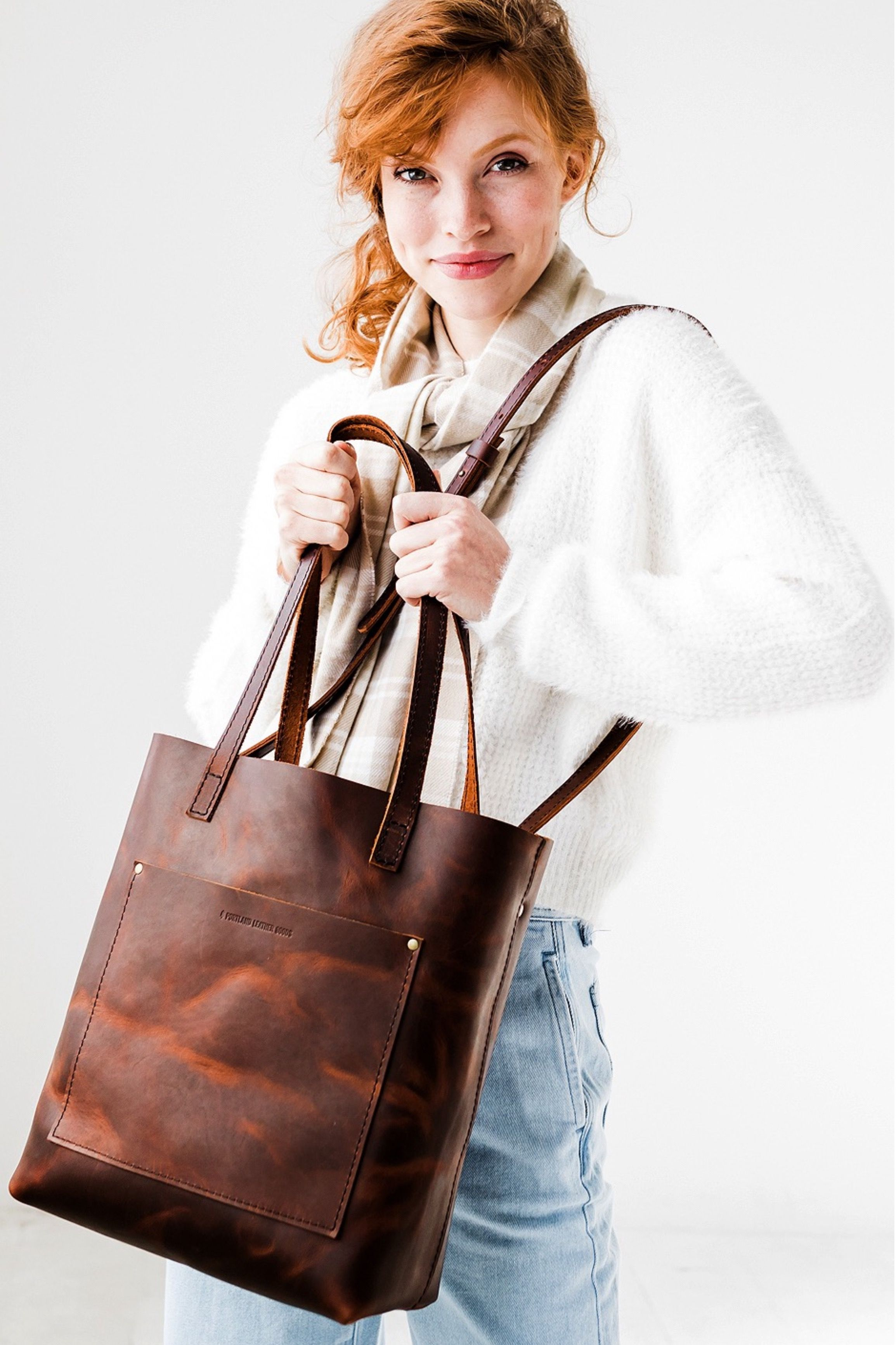 Portland Christmas Guide 2020 Introducing our NEW CrossbodyTote in Cognac! fashion   style