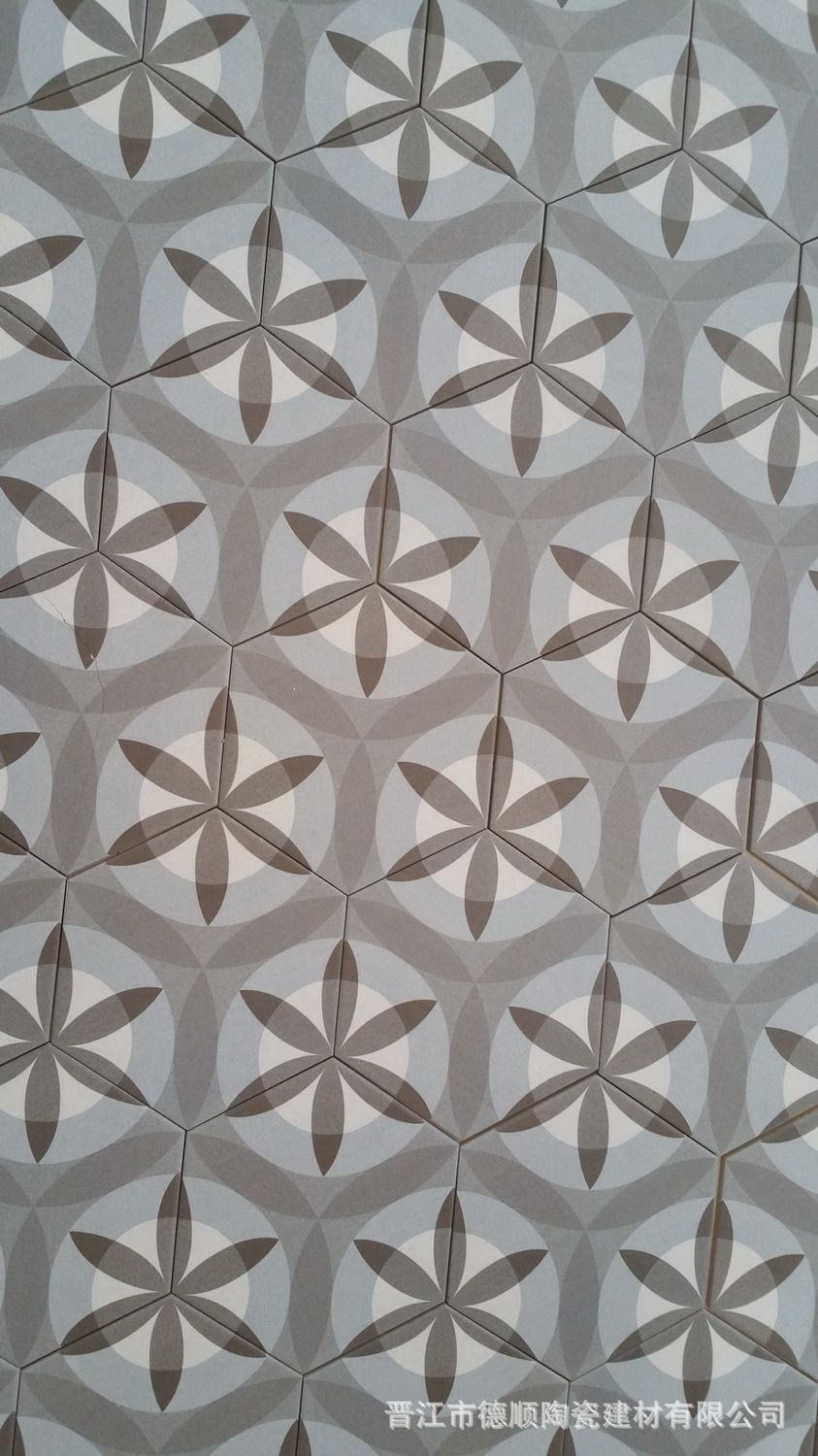 Mosaik Fliesen Zement Hexagonal Brick Tile Cement Retro Old Shanghai Hexagonal Tile