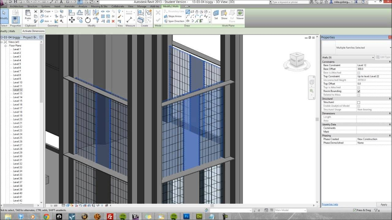 How I Build A Tower In Revit Architecture Revit Architecture Architecture Building