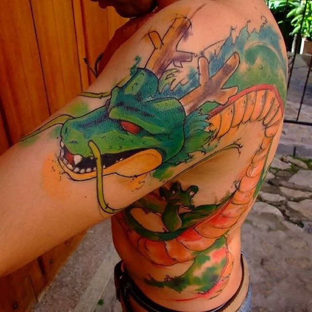 Pin On Dbz Tattoos