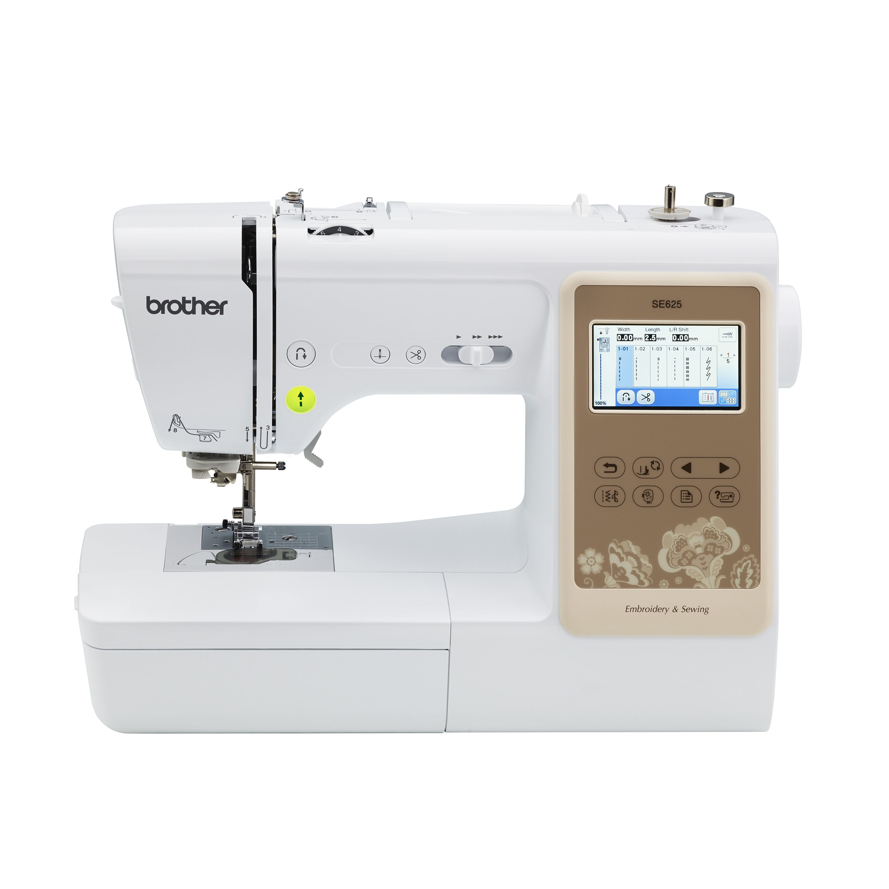 Brother SE625 Combination Computerized Sewing and 4x4
