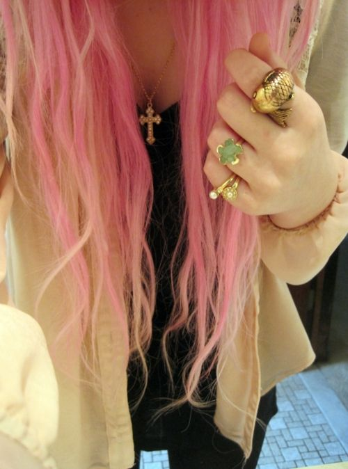 big chance im dying my hair purp or pink