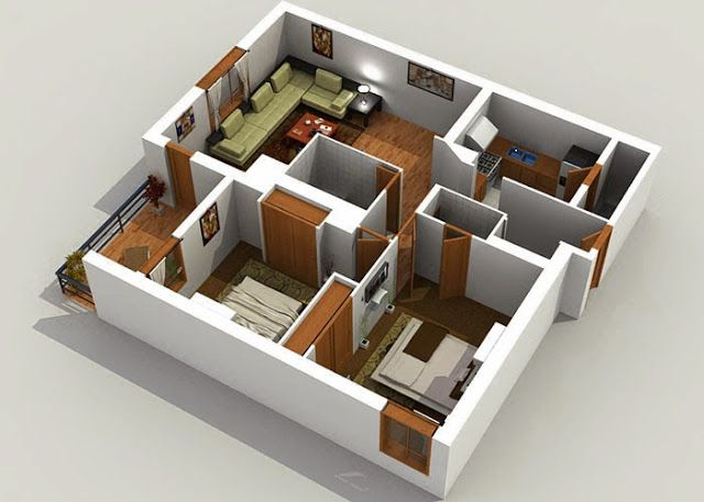 3d Modern House Plans Projects Collection Decor Units Cool House Designs Free House Plans Modern House Plans