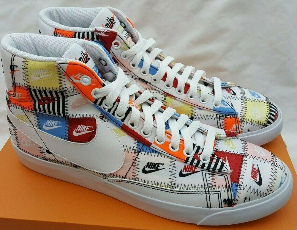 Nike Blazer Hi Patchwork Mid White