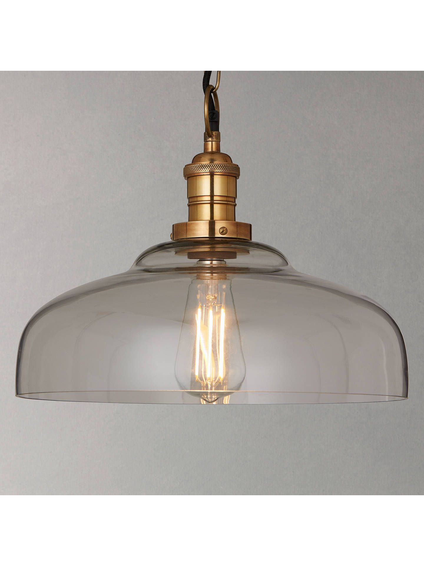 Croft Collection Clyde Gl Pendant Ceiling Light Clear In