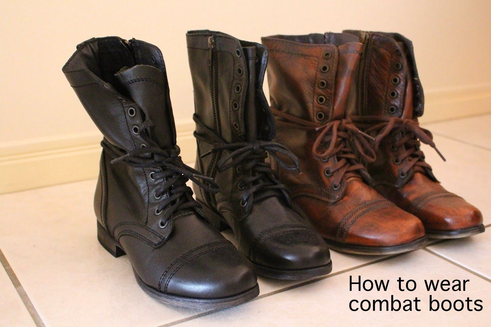 How to wear combat boots | outfits | Combat boot outfits ...