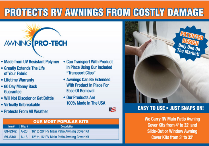 Awning Pro Tech 17 To 20 Kit
