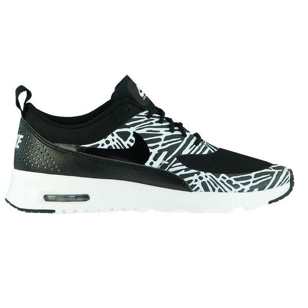 Nike Air Max Thea Print Wmns Schuhe Damen Sneaker Turnschuhe Schwarz 599408 010 Schuhe Damen Sneaker Schuhe Damen Turnschuhe