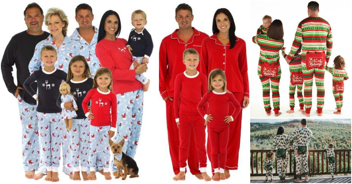 Family Christmas PJs Fun Matching Pajamas For the Whole Family