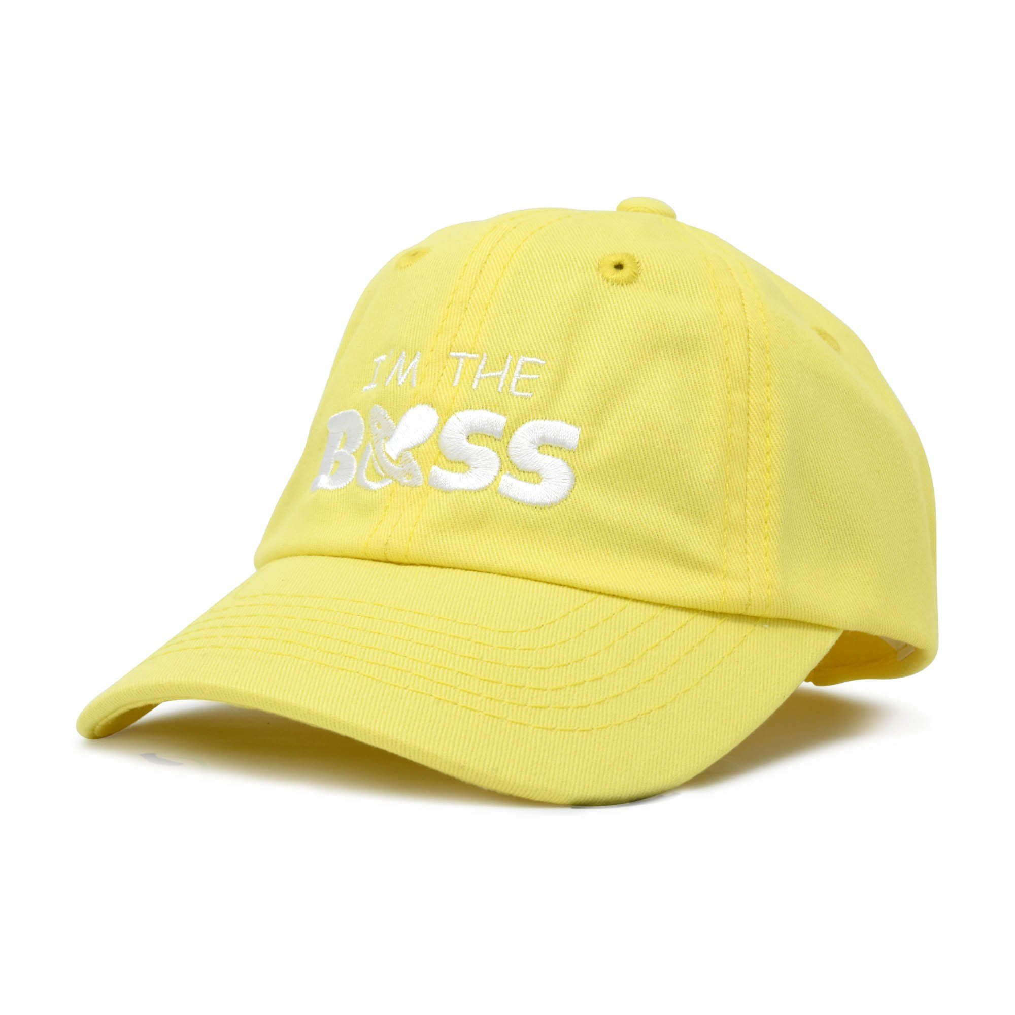 006e5b85 DALIX I'm The Boss Baby Hat Infant Baseball Cap for Baby Girls and Boys