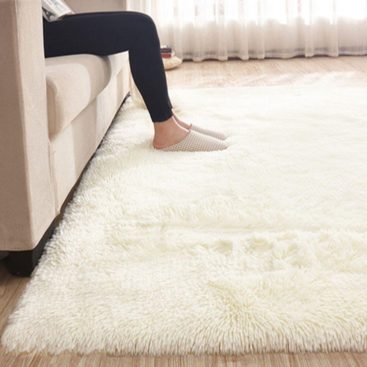 Insma Modern Soft Fluffy Floor Rug Anti Skid Shag Shaggy Area Rug Home Bedroom Living Room Carpet Child Play Mat Yoga Mat Walmart Com In 2020 Bedroom Area Rug Bedroom Carpet Rugs