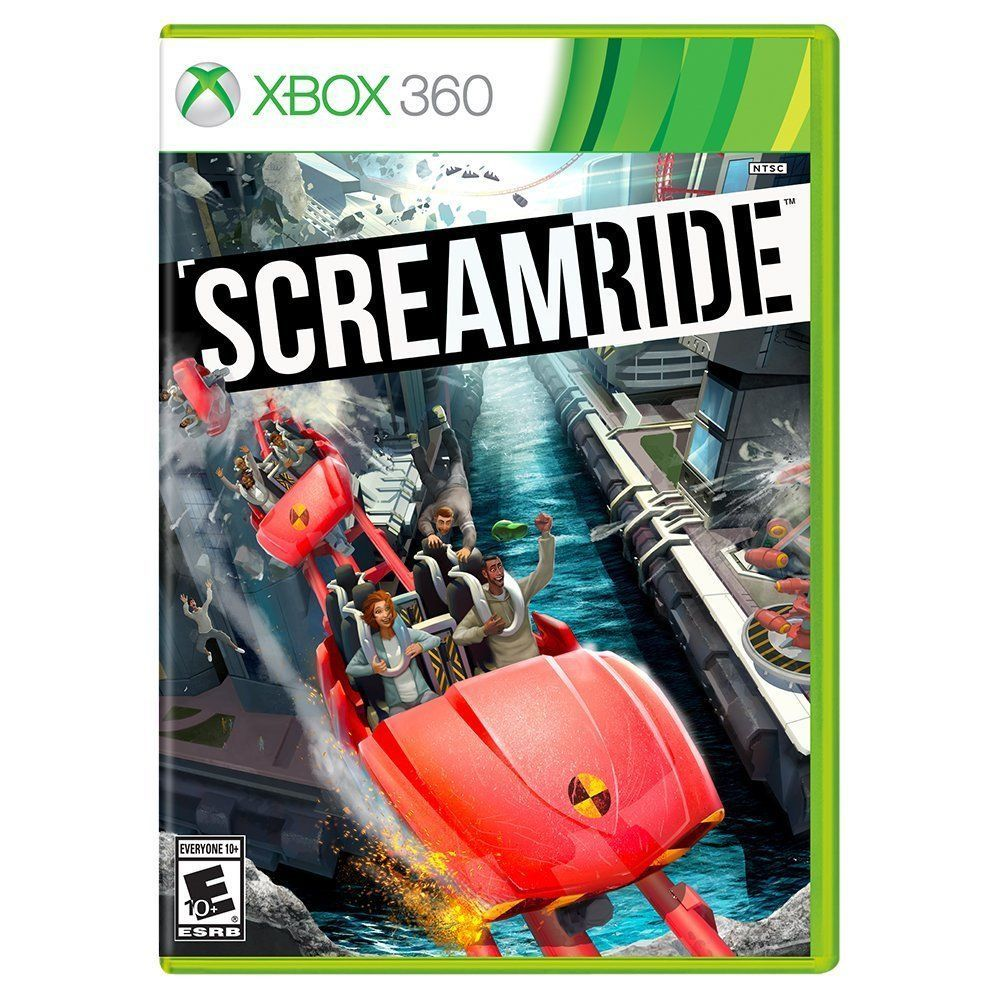 Scream Ride Xbox 360 Roller Coaster Like RollerCoaster