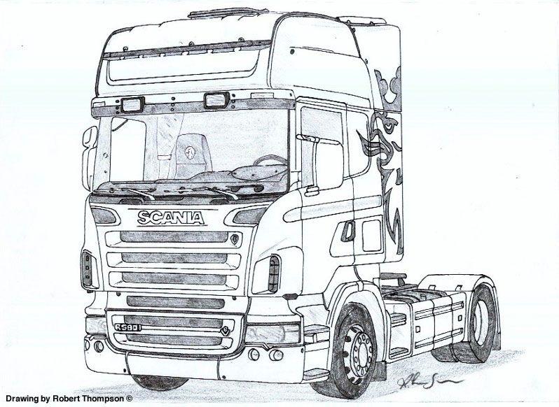 Pin De Jaime Em Dibujos Bakanes Desenhos De Carros Caminhao