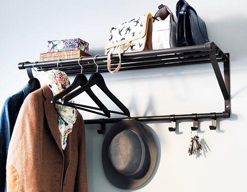 Repasamos los mejores percheros de pared y colgadores ikea for Modelos de percheros