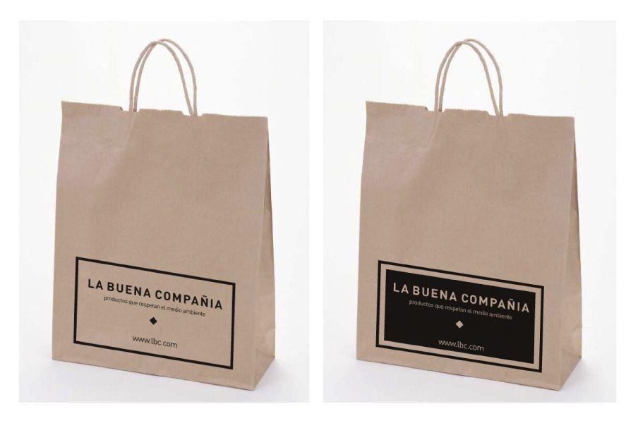 b3b41c3b1 shopping bag, een simpel disign op de voorkant Bolsas De Plástico, Bolsas  De Papel