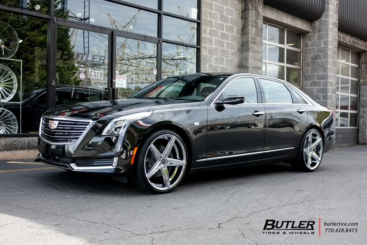 Cadillac Ct6 With 22in Lexani R Four Wheels