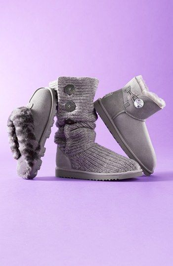 9a323811282 UGG® Australia  Mini Bailey Button Bling  Boot (Women) available at   Nordstrom