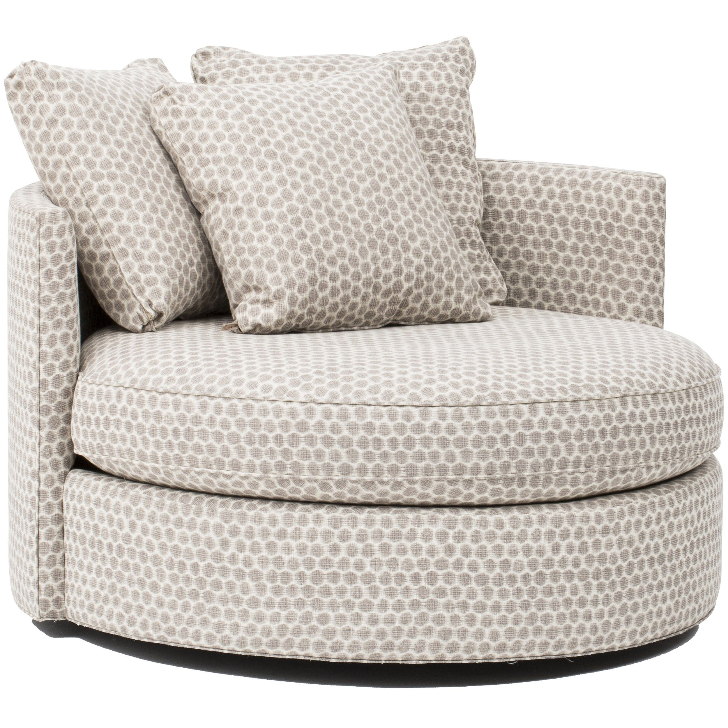 Furniture swivel and tub chairs dori fabric swivel cuddle chair - Betty Swivel Chair Stones Pewter