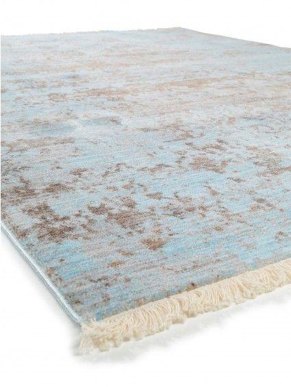 Teppich Vintage Safira Blau 160x235 cm tapis Pinterest