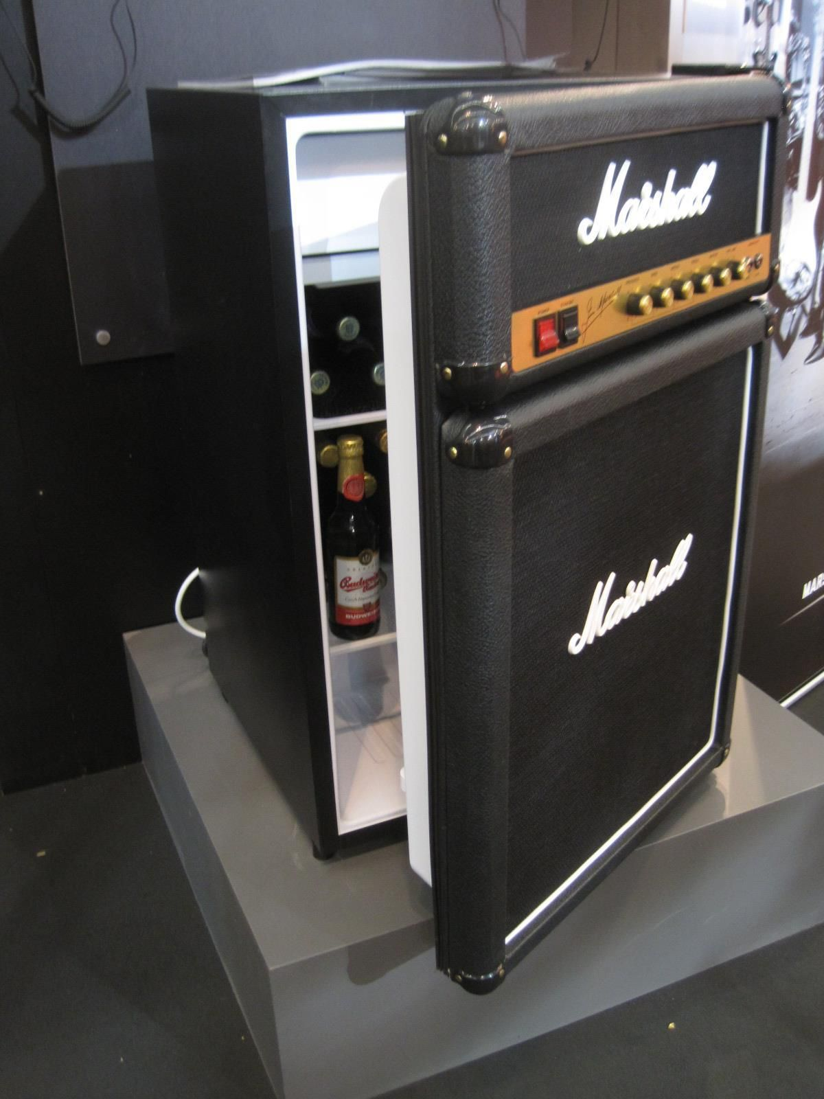 Home for the home marshall fridge - Marshall Stack Refrigerator For The Music Man Cave Room In The Home