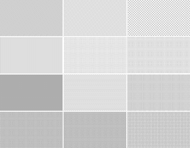 20 Repeatable Pixel Patterns Texture gradient, Pattern