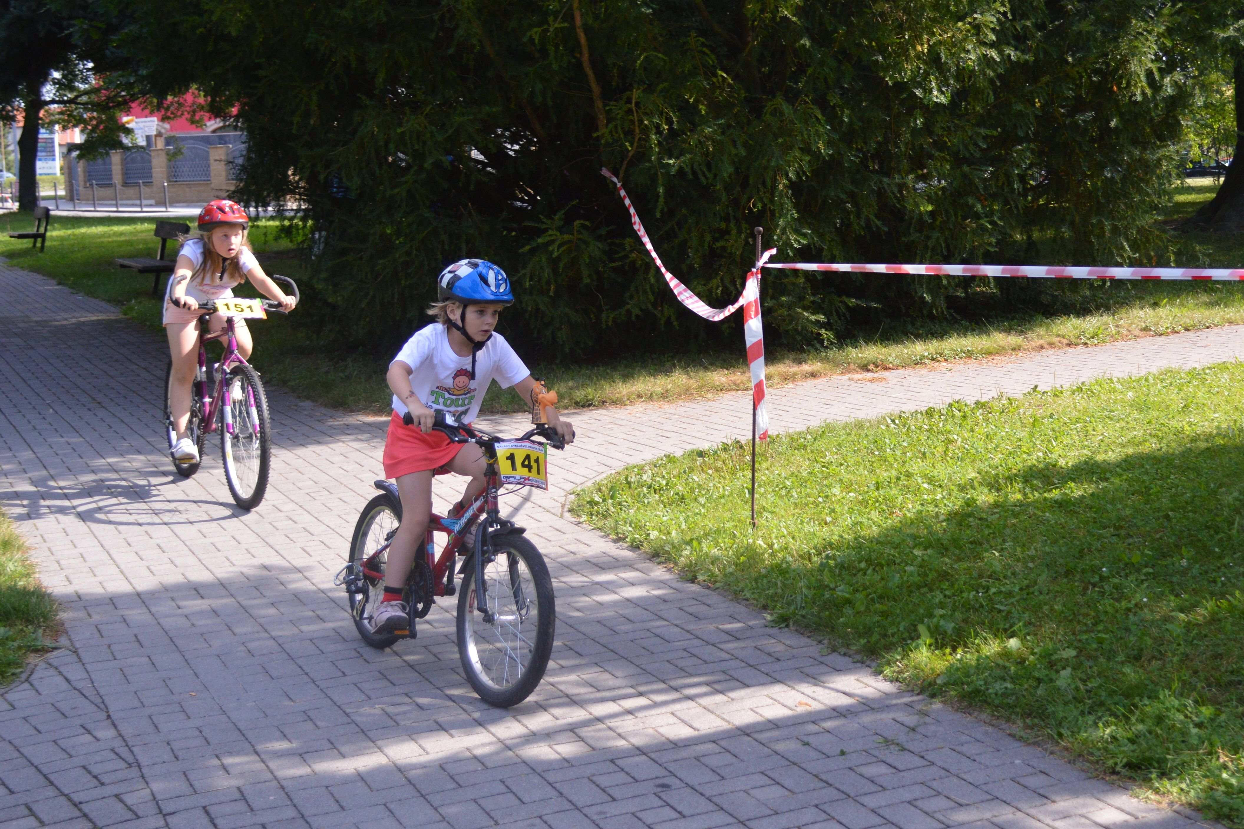 dětské závody Galaxy CykloŠvec Bechyně 2014