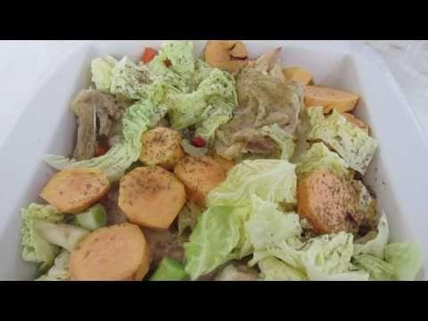 Devaneios Culinários da Tiazinha: galinha caeira com legumes se gluten