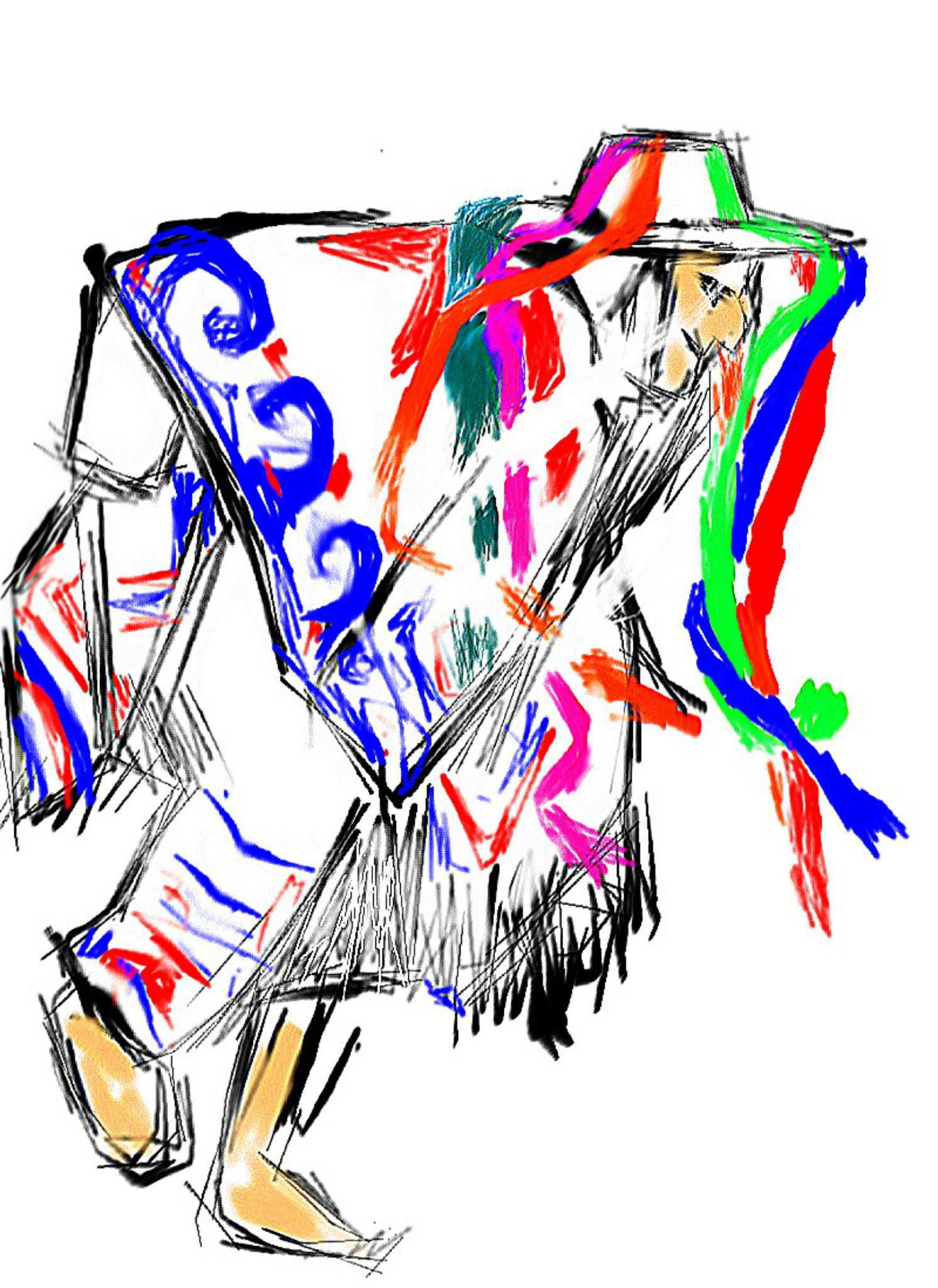 La danza de los viejitos | Danza dibujo, Pintura de camiseta, Dibujos