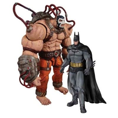 Action Figure DC Collectibles Batman Arkham Asylum Bane vs. Batman #Brinquedos #ActionFigure