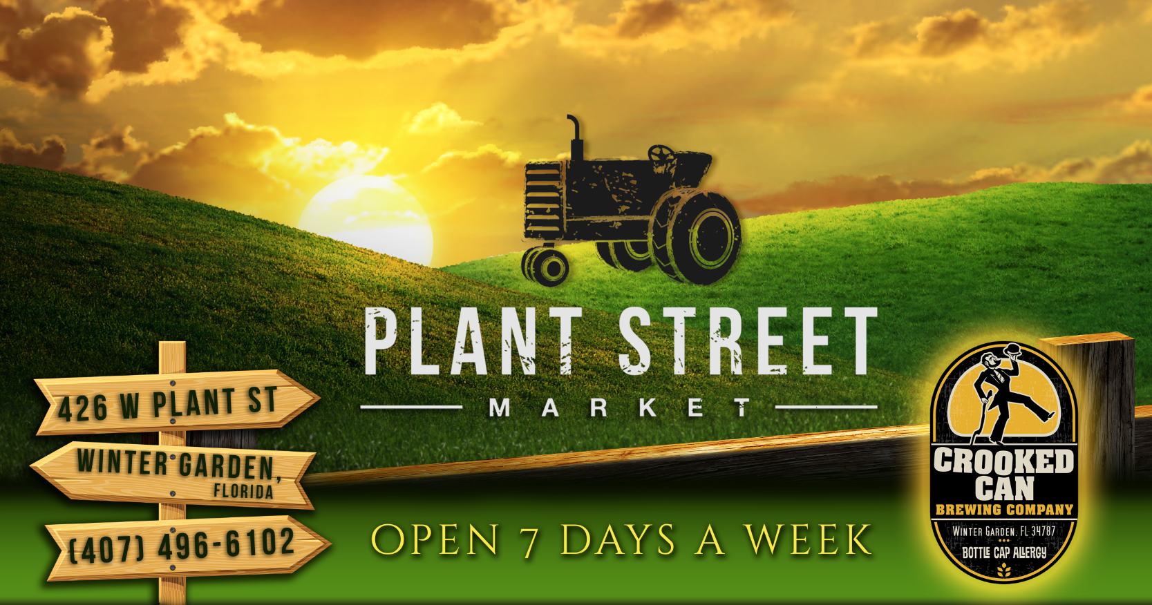 plant st market is located in downtown winter garden with 20