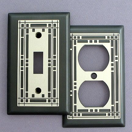 Light Plates And Outlet Plates Arts Crafts Style Art Deco Decor Art Deco Pattern