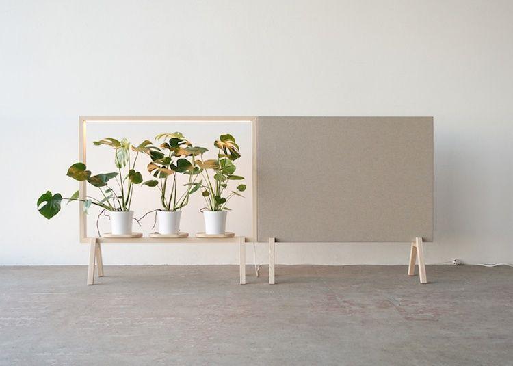 d couvrez l 39 tag re porte plante qui transforme la verdure en uvre d art chambre design. Black Bedroom Furniture Sets. Home Design Ideas